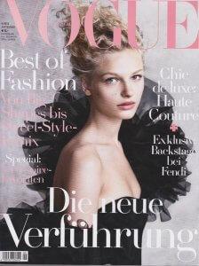 Zahnärzte Artikel in der Vogue - Titel