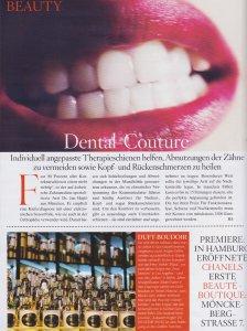 Zahnärzte Artikel in der Vogue - Seite 1