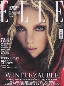 Zahnärzte Artikel in der Elle - Titelseite
