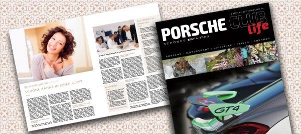 Die Spezialisten im Porsche Club Life Magazin